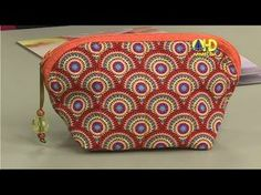Regina Molina shared a video Patchwork Tutorial, Clutch Pattern, Felt Templates, Diy Clutch, Bag Organization, Handmade Bags, Craft Tutorials, Bag Making, Cosmetic Bag