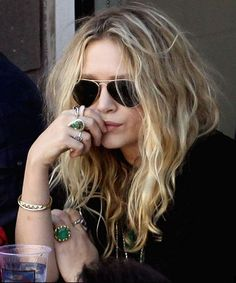 Rings. casual, street style, fashion with RayBan sunglasses