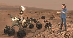NASA's Next Mars Rover Is Being Designed By Using Mixed Reality.  NASA's plans to launch its next rover in 2020.