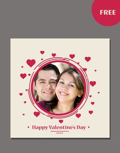 valentine day psd templates