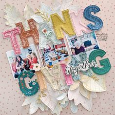 Thanksgiving Layout by Paige Evans | Paige Taylor Evans