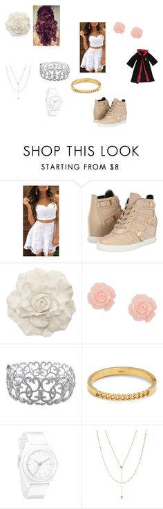 """""""Jessica's Outfit - I'm Harry Potter's Twin Chapter 16"""" by amazingness-of-fashion ❤ liked on Polyvore featuring Pierre Balmain, Retrò, Ice, Chloé, Nixon, Jennifer Zeuner and Rubie's Costume Co."""