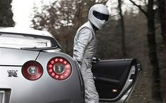 The Stig and a monster