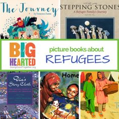 A growing list of books to build compassion and emathy for the refugee experience. Children's Picture Books, Big Picture, Chapter Books, Happy Heart, Happy Kids, Our Kids, Book Lists, Fun Activities, Childrens Books