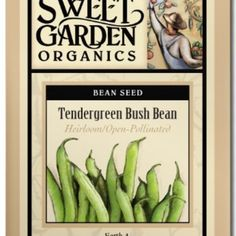 Tendergreen Bush Bean  from The Scribbled Hollow for $2.89 on Square Market