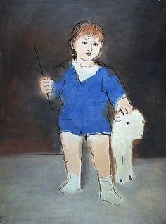 "Pablo Picasso - ""Portrait of Paulo"", 1922"