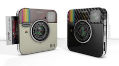 Print your real-life Instagram photos with the Socialmatic camera.