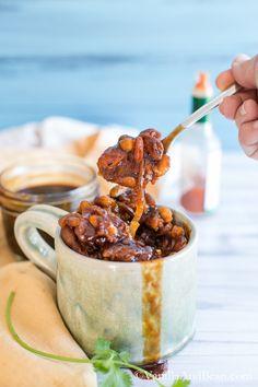 Smoky BBQ Baked Beans | Vanilla And Bean