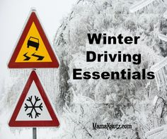 What are the must haves for a winter road trip?