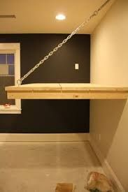 Image result for how to build a hanging loft bed
