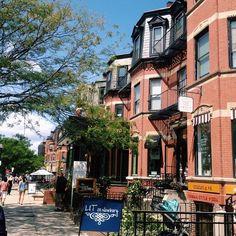 Newbury Street in Boston, MA