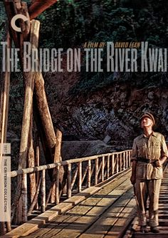 My fake Criterion cover for The Bridge on the River Kwai.