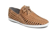 """SeaVees huarache for women. From the site: """"Think Steve McQueen cool, Richard Neutra clean and Brian Wilson creative. Now think of these things with 40 years of perspective, appreciation, and contemplation."""" That's SeaVees style."""