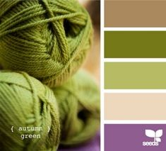 Purple, cream and green by simone