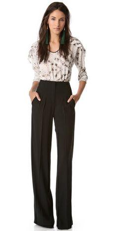 PHILOSOPHY High Waisted Pants   love them.