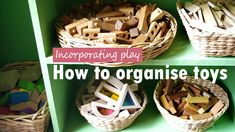 How to organise toys (and even get the kids to help) #parenting #kids