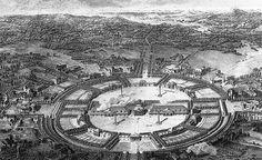 Projet pour la ville de Chaux - Ledoux - Royal Saltworks at Arc-et-Senans - Wikipedia