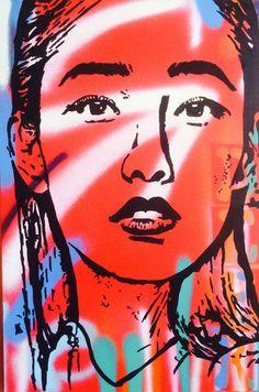 Down Burton Lane - SOLD by McDonald | PLATFORMstore. Painting on Canvas