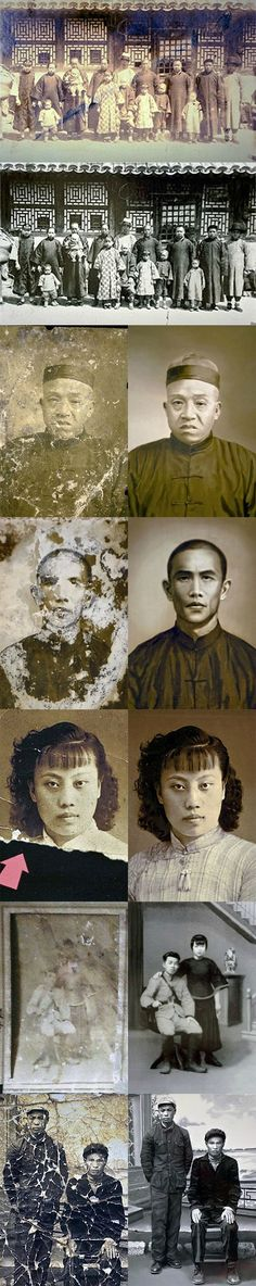 76-year-old Photoshop Master in China Restores Old Photos for Free
