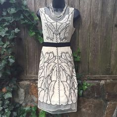 NWT Anthopologie Ryu Mesh Dress Size S Beautiful Dress. Polyester fully lined. Anthropologie Dresses Midi