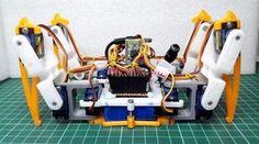 Picture of [DIY] Spider Robot(Quad robot, Quadruped)