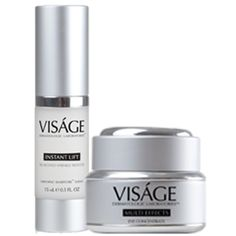 Visage Instant Lift and Visage Multi Effects Eye Cream.   Good as #anti-wrinkle and #facelift solution http://visagelabs.net/presentation