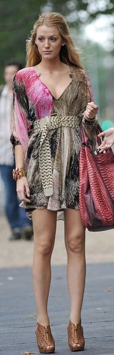"""The Really Bad: Serena's Rachel Zoe-esque Boho Style 