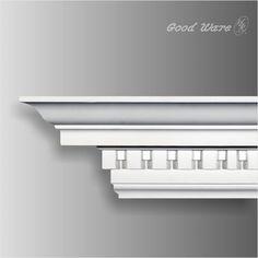 Melton classics exterior cornice low cost architectural for Fiberglass crown molding
