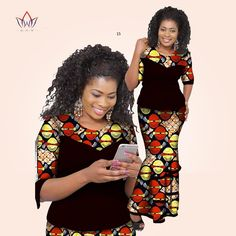 Item specification Brand Name:BintaRealWax Gender:Women Closure Type:None Sleeve Style:Regular Decoration:Appliques,None Collar:O-Neck Model Sleeve Length(cm):Half Dresses Length:Knee-… African Tops, African Dress, Two Piece Sets, Appliques, Sleeve Styles, Skirt Set, Wax, Gender, Closure