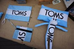 TOMS flag crafts - cute