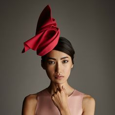 Lock & Co Hatters, Couture Millinery - A/W 2015, Ianthie Hat. #passion4hats