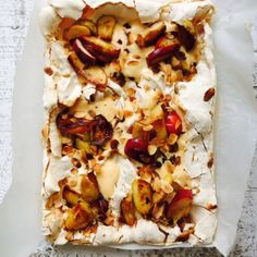 Nigel Slater - Recipes - Winter - Sweet Christmas - Apple and Custard Meringue