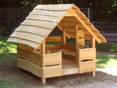Wood play house C6-2