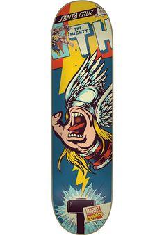 Santa-Cruz Thor-Hand, Deck, multicolored Titus Titus Skateshop #Deck #Skateboard #titus #titusskateshop