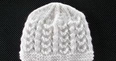 This knit baby hat pattern is nothing short of gorgeous, with minimal fancy knot work. The Sophie Baby Hat is also an easy knit pattern, using only knits and purls to achieve its very sweater-like texture. The hat is meant for newborn babies from months. Baby Hat Knitting Patterns Free, Baby Hat Patterns, Baby Hats Knitting, Knit Patterns, Free Knitting, Knitted Hats, Free Pattern, Kids Knitting, Knitting For Charity