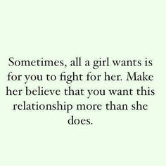 Nah, I won't fight for you...