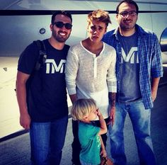 Justin Bieber spends the day with his brother Jaxon Bieber!