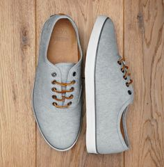 Fancy - Van OTW Distressed Denim Woessner Shoe | another pair of nice men's shoes for you