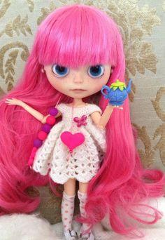 OOAK Blythe custom doll ** #66 Kristy ** custom made by Nora   eBay