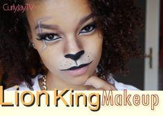 Löwe Make Up | Kostüm-Idee zu Karneval, Halloween & Fasching