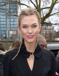 Karlie Kloss arriving at The Topshop Unique show, Tate Britain, part of London Fashion Week AW2016. Photo Credit should read Doug Peters EMPICS Entertainment