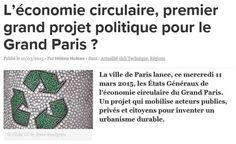 Etats Généraux du Grand Paris : l'économie circulaire à l'honneur : YPREMA Le Blog