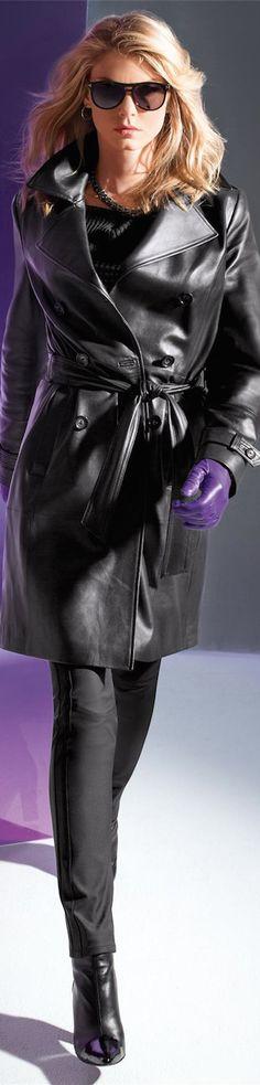 Madeleine Fall 2014 ● Madeleine Leather Trench