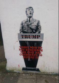 Graffiti in Bristol, England