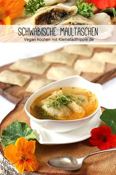 ᵂᴱᴿᴮᵁᴺᴳ SWABIAN vegan MAULTASCHEN: I really missed Maultaschen after switching to vegan. Cooking Icon, Cooking Chef, Healthy Cooking, Cooking Quotes, Cooking For Beginners, High Calorie Meals, Cooking Together, Plant Based Recipes, Gnocchi
