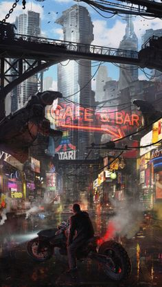 33 Ideas For Science Fiction Illustration Fantasy Art Future City Art Cyberpunk, Cyberpunk 2020, Cyberpunk Aesthetic, Futuristic City, Fullhd Wallpapers, Sci Fi City, Science Fiction Art, Science Art, Shadowrun