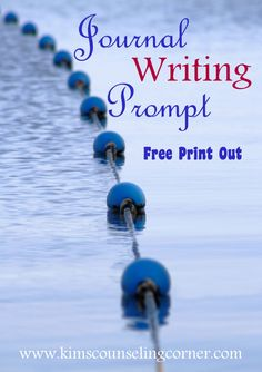 journal writing free print out  kingwood counseling and play therapy