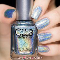 Color Club Blue Heaven Nail Polish (Halo Hues Collection) | Live Love Polish