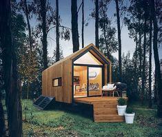 Nook Tiny House Tiny House Talk, Tiny House Cabin, Tiny House Living, Tiny House Design, Tiny House On Wheels, House Deck, House Floor, Minimaliste Tiny House, Timbercraft Tiny Homes