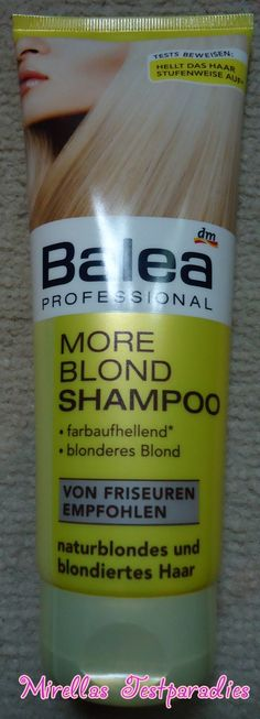 The More Blond Shampoo from Balea.